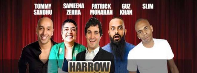 Desi Central Comedy Tour : Harrow