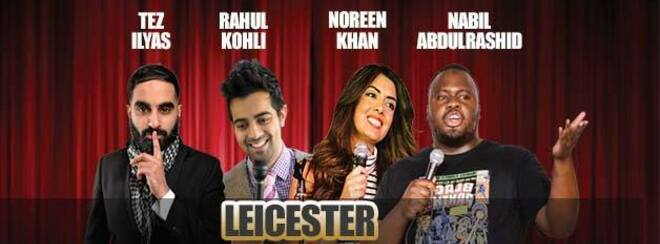 Desi Central Comedy Tour : Leicester