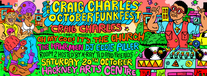 Craig Charles October FunkFest - London