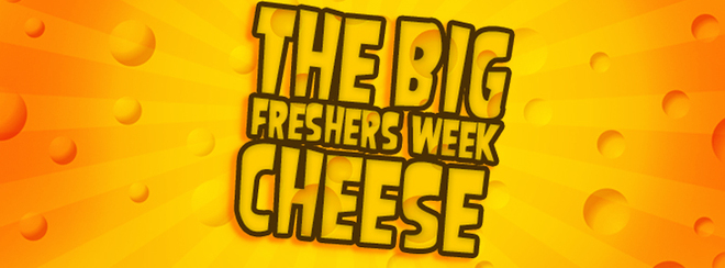 The Big FRESHERS WEEK Cheese – Non Stop Cheesy pop!