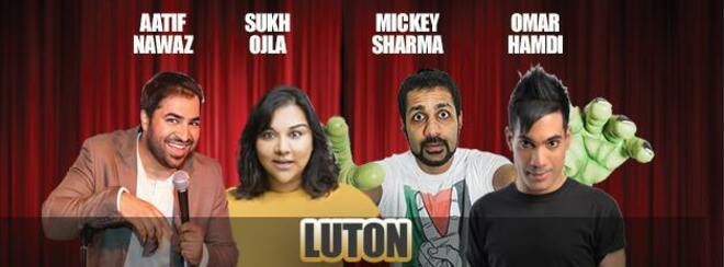 Desi Central Comedy Tour : Luton
