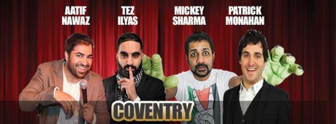Desi Central Comedy Tour : Coventry