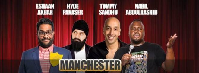 Desi Central Comedy Tour : Manchester