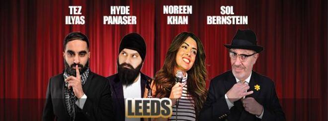 Desi Central Comedy Tour : Leeds