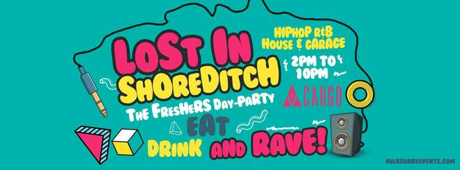 The Official Freshers Day Party | Lost In Shoreditch!