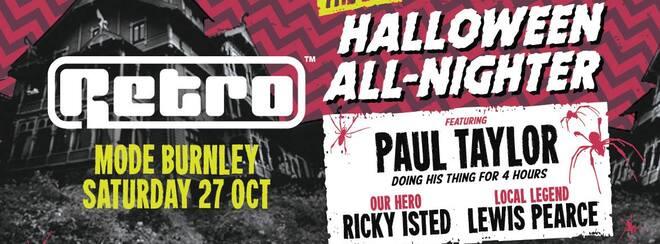 Retro Halloween spectacular in Burnley