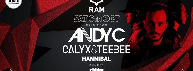 RAM Southampton • Saturday 6th October
