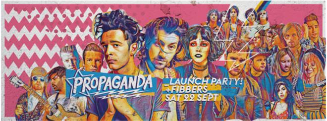 Propaganda Plymouth – Launch Night T-Shirt Giveaway!