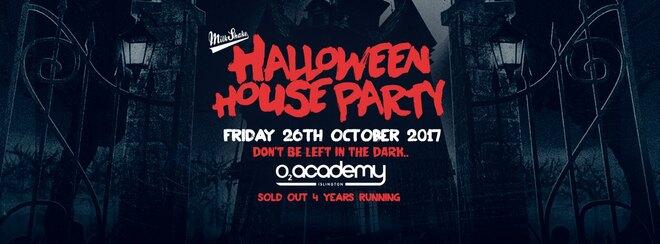 Milkshake Halloween Haunted House Party 2018 - O2 Academy Islington | Friday October 26th