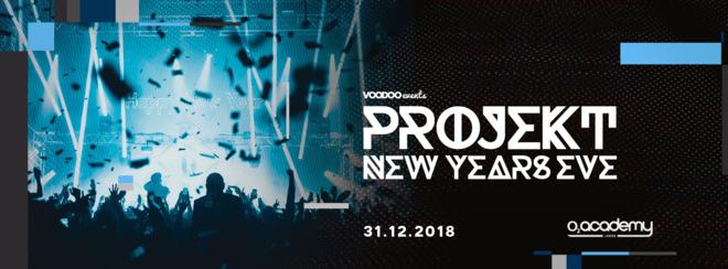 Projekt New Years Eve 2018. O2 Academy Leeds.