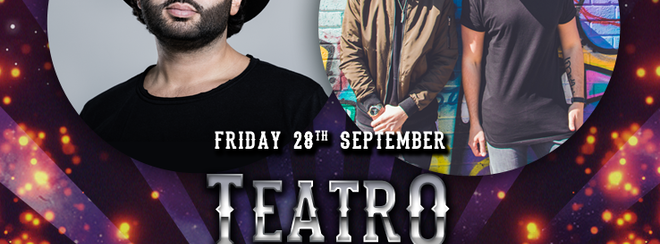 Teatro – Fridays at Mission present Pax & Ninetoes