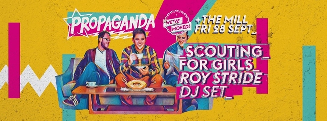 Propaganda Birmingham – Launch Party Ft. Scouting For Girls' Roy Stride (DJ Set)!