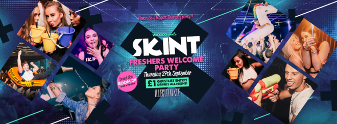 Skint - Freshers Welcome Party