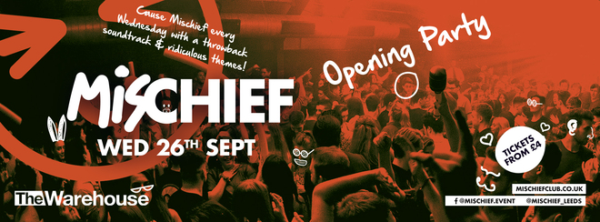 SOLD OUT – Mischief | Opening Party