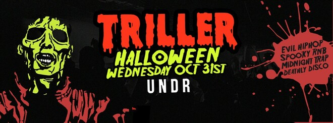 TRILLER - A Basement Halloween | UNDR Hackney October 31st