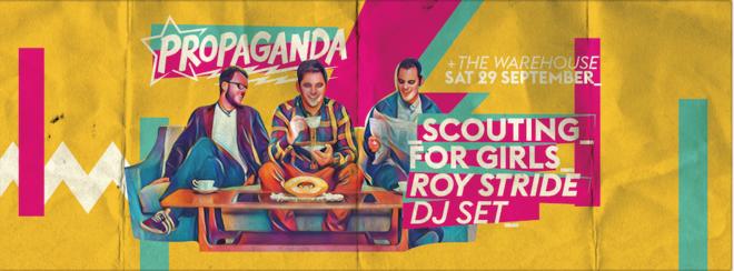 Propaganda Leeds – Scouting For Girls' Roy Stride DJ Set!
