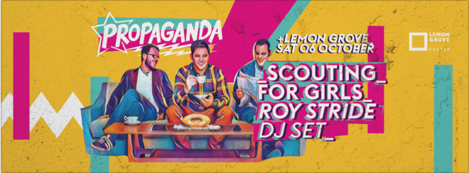 Propaganda Exeter – Scouting For Girls' Roy Stride DJ Set!