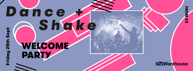 Dance & Shake: Welcome Party