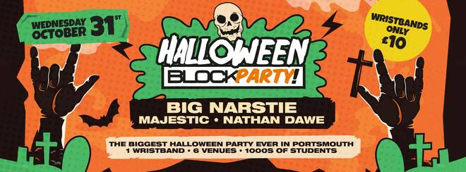 Portsmouth Halloween Block Party ft. Big Narstie