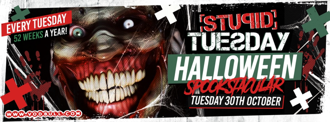 Stuesday: Halloween Spooktacular – 60% Sold Out!
