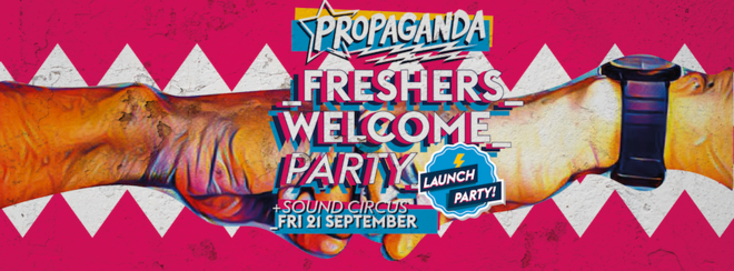 Propaganda Bournemouth Freshers Welcome Launch Party!