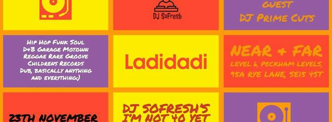 ladidadi Dj sofresh I'm not 40 yet birthday party