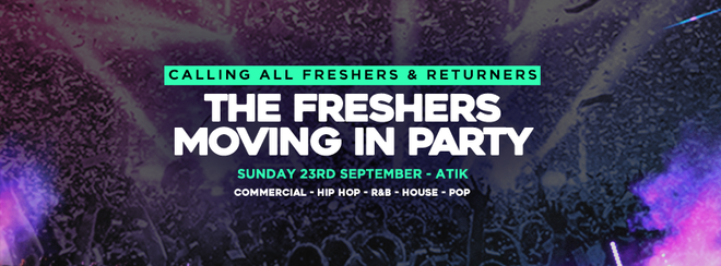 ROYAL HOLLOWAY FRESHERS MOVING IN PARTY 2018 // ATIK WINDSOR