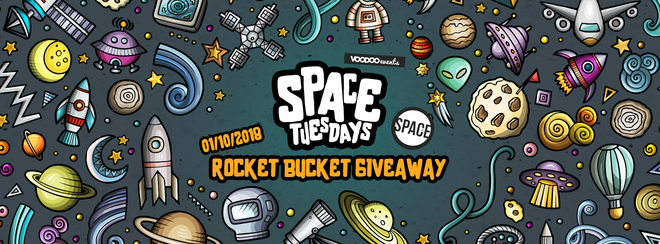 Space Tuesdays : Leeds – Rocket Bucket Giveaway