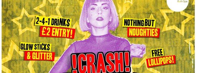 !CRASH! – Lady Gaga's Glitter 'n' Glow UV Smash-Up!