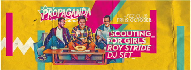 Propaganda Cambridge – Scouting for Girls' Roy Stride DJ Set!