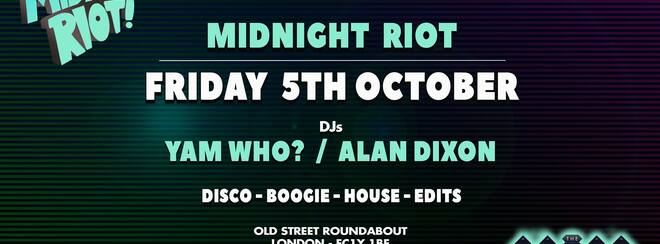 Midnight Riot at Magic Roundabout