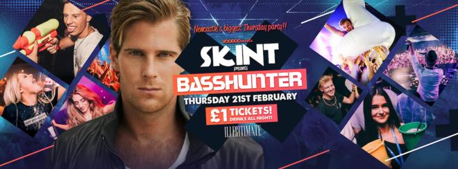 Skint - Basshunter Live
