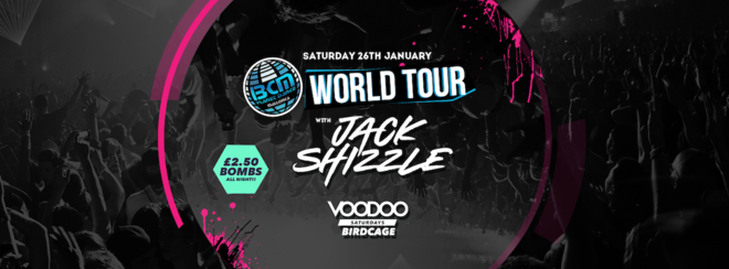 Voodoo Saturdays at The Birdcage Presents BCM World Tour