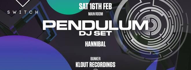 Pendulum • Saturday 16th February / Final £10 tickets