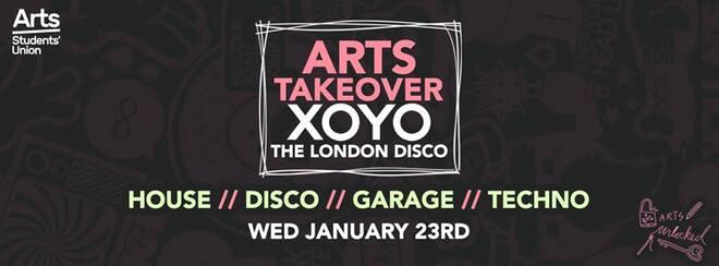 Arts' SU XOYO Takeover 2019