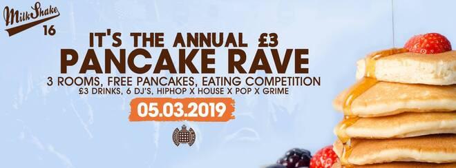 Milkshake, Ministry of Sound | Pancake Day Rave 2019