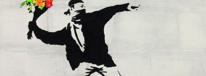 ArtNight: Paint link Banksy