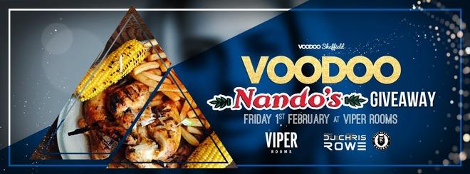 Voodoo Fridays: Nandos Giveaway