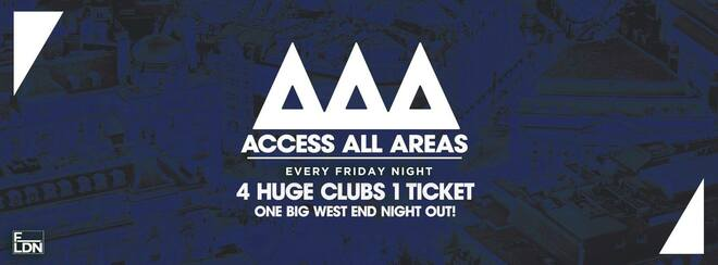 Access All Areas – The Ultimate Student Club Crawl | Back This Friday!
