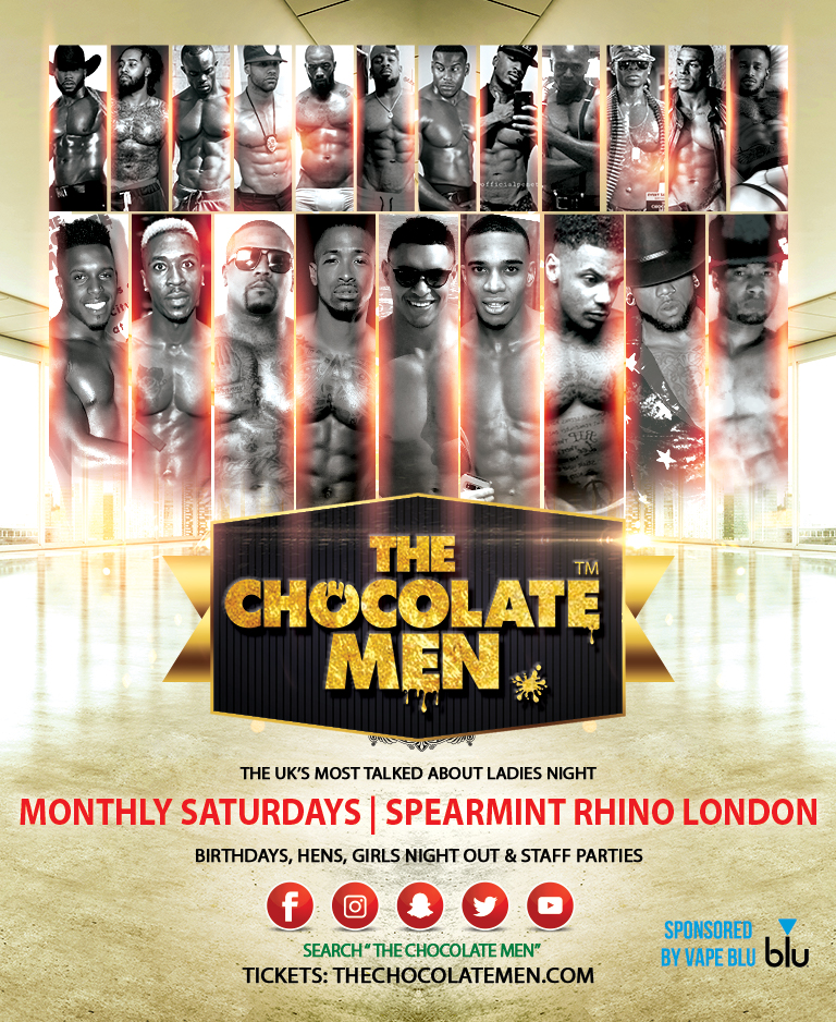 The Chocolate Men NYE London Show – Live & Uncensored
