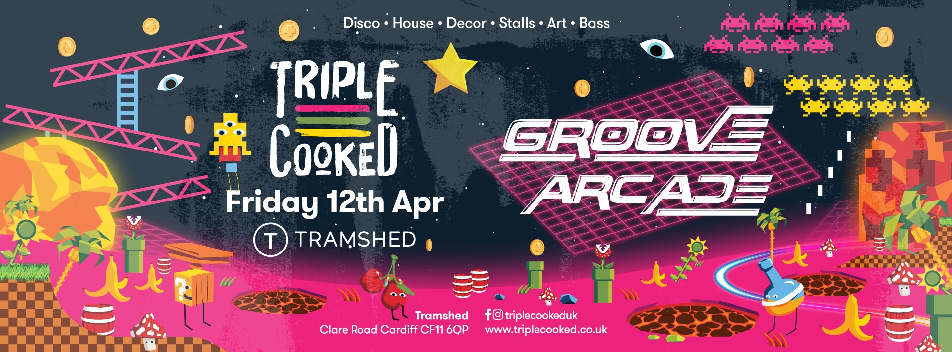 Triple Cooked: Cardiff – Groove Arcade