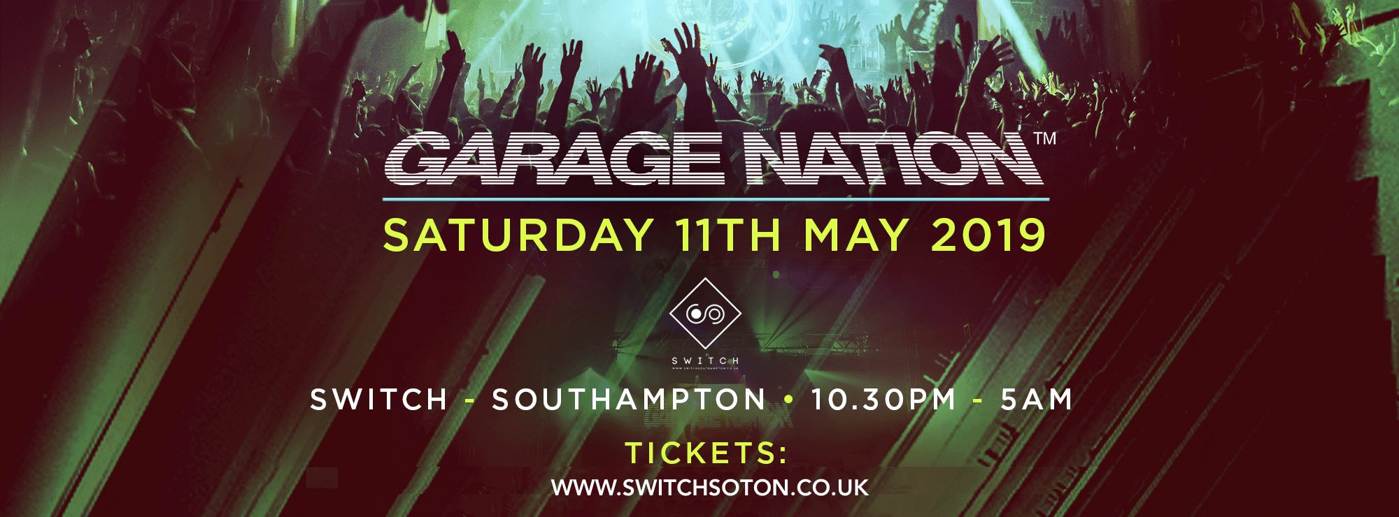 Garage Nation Southampton • Saturday 11th May
