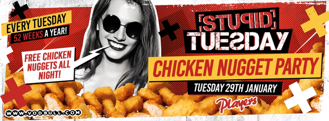 🍗 Stuesday: Chicken Nuggets Party 🍗