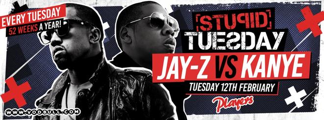 🎵 Stuesday: Jay-Z v Kanye Night 🎵