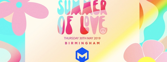 Summer of love – The Mill – Digbeth