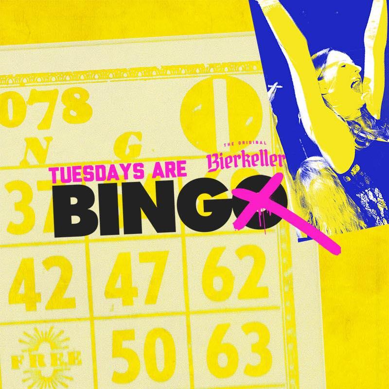Bierkeller Bingo – Every Tuesday