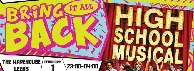 Bring It All Back – High School Musical Party – Leeds