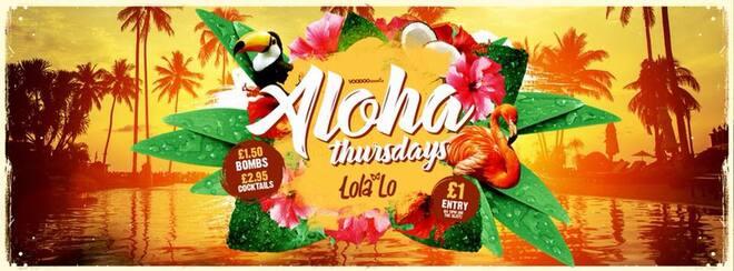 Aloha - Thursdays at Lola Lo