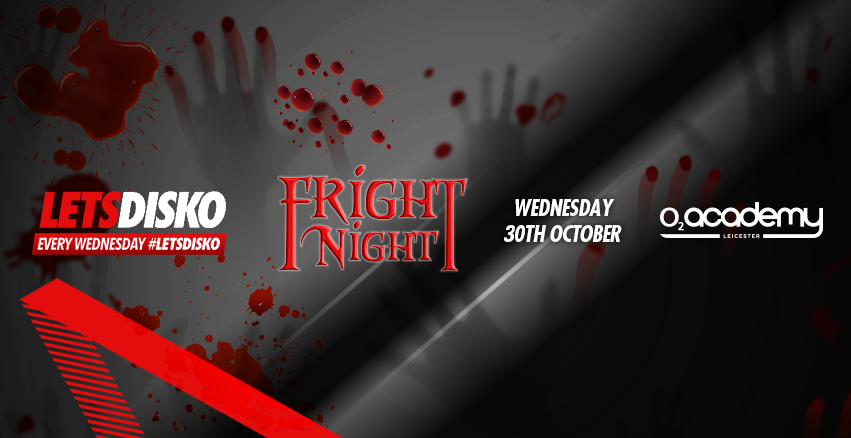 LetsDisko Halloween Fright Night! Wednesday 30th October.