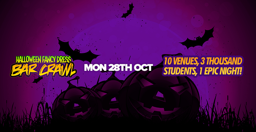 Halloween Fancy Dress Bar Crawl // Ending at Monsta Mondays!